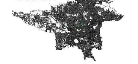 Image result for نقشه اتوکد توپوگرافی تهران بزرگ + بلوک بندی