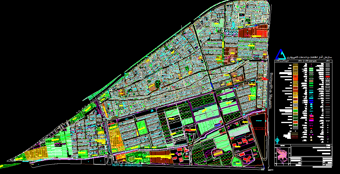 Image result for اتوکد منطقه 13 شهر اصفهان